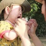 子供がスズメバチに刺されたら!症状と対処法!2回目や病院は何科?