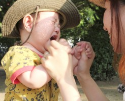 子供がスズメバチに刺されたら