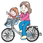 子供乗せ自転車はいつから何歳までOK?前乗せと後ろ乗せはどっち?