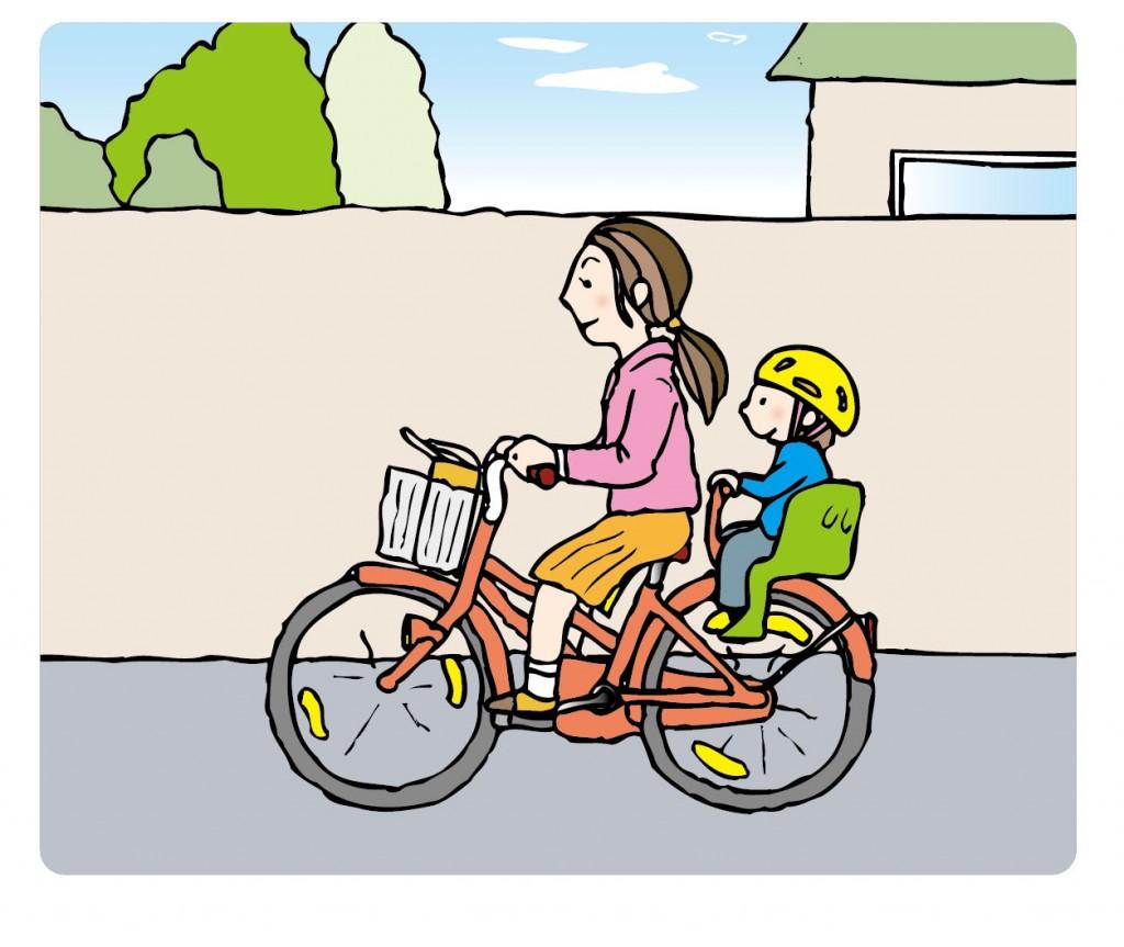 子供乗せ自転車は前乗せか後ろ乗せか?中古と電動の選び方