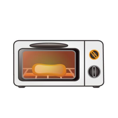 オーブントースターのヒーターとアルミ製の注意点