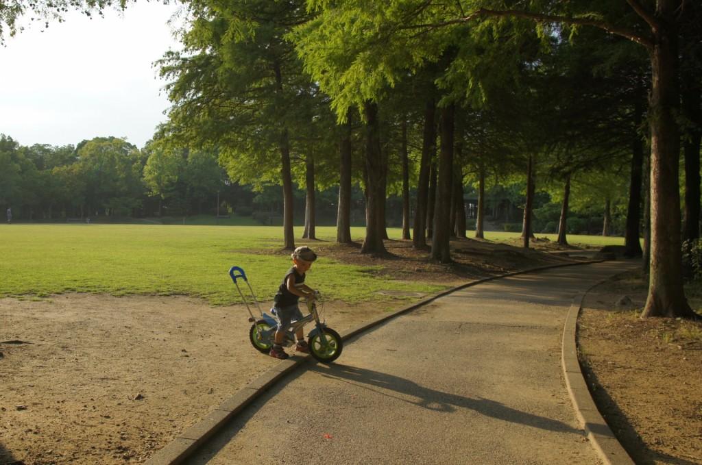 子供の自転車のサイズとヘルメットの選び方