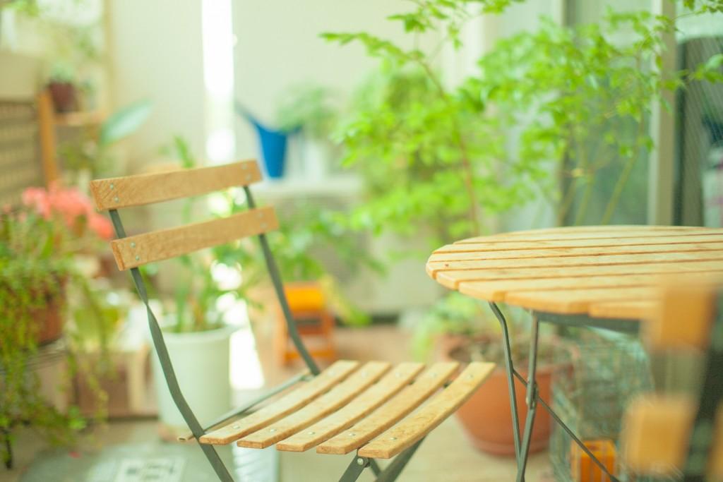 草むしりの楽な方法と椅子