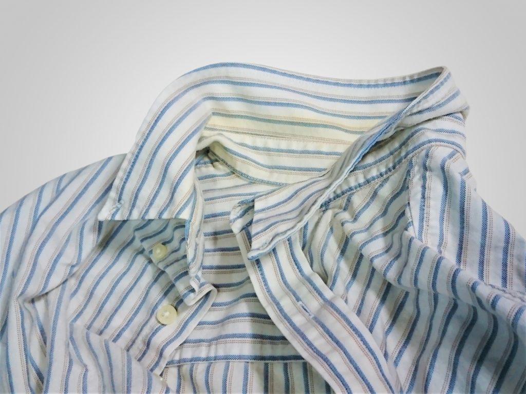 ワイシャツ襟汚れと黄ばみの落とし方