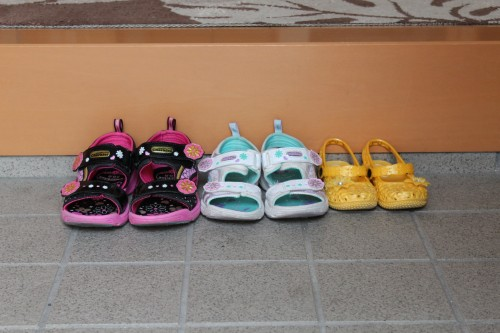 靴の洗い方で子供用と洗濯機の利用方法